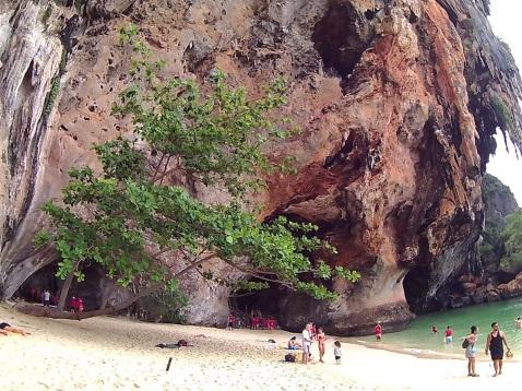 Pranang Cave Beach