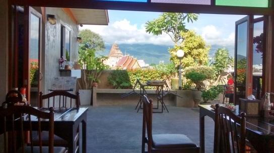 Café-da-manhã no Baan Montien