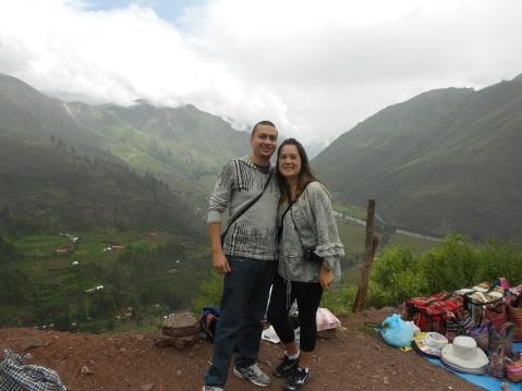 Vista do Vale dos Incas