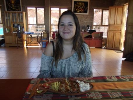 Almoço - prato principal Trucha