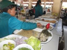 Ceviche no Mercado de San Pedro
