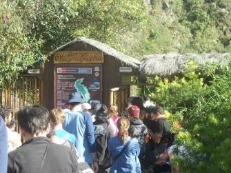 Controle de entrada - Wayna Picchu