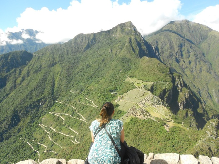 Vista do topo do Wayna Picchu