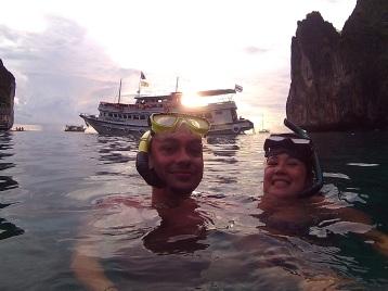 Snorkeling Maya Bay