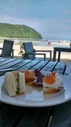 Ko Phi Phi - café-da-manhã no PP Charlie
