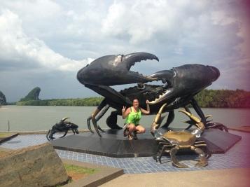 "Krabi significa ""carangueijo"" em Tailandês"