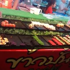 Sushi por unidade