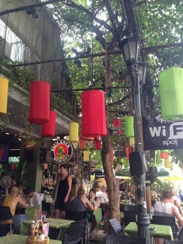 Bangcoc - restaurante Green House