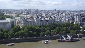 Whitehall Gardens visto da London Eye