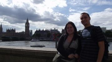 Palácio de Westminster visto da London Eye