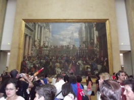 Maior quadro do Louvre (As Bodas de Canaã)