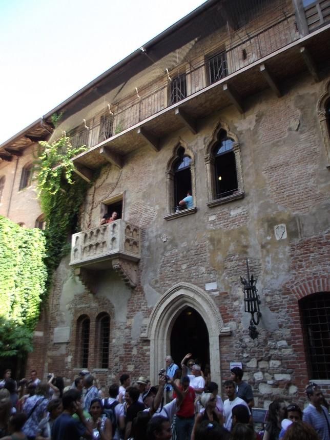 Sacada na Casa da Julieta