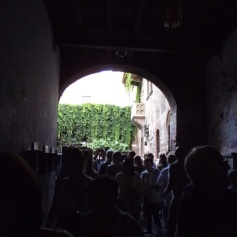Entrada na Casa da Julieta