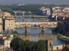 Vista da Ponte Vecchio da Piazzale Michelangelo