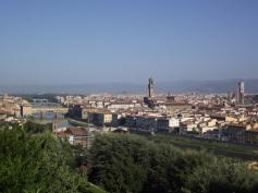 Vista de Florença da Piazzale Michelangelo