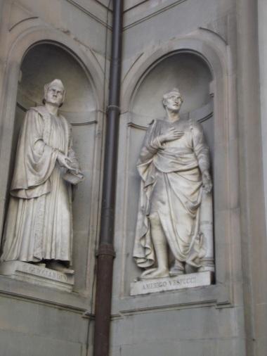 Estátuas Galeria Uffizi