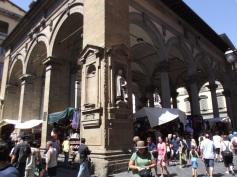 Galeria nas ruas de Florença