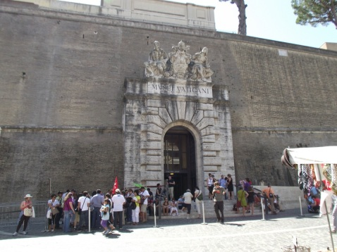 Entrada do Vaticano