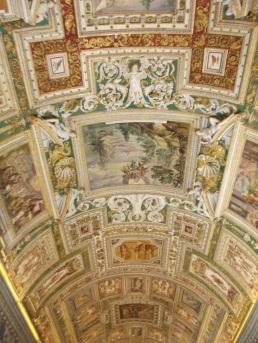 Teto dentro do Vaticano