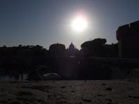 Castel Sant' Angelo visto de longe