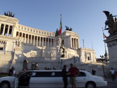Fórum Romano - Monumento a Vítor Emanuel