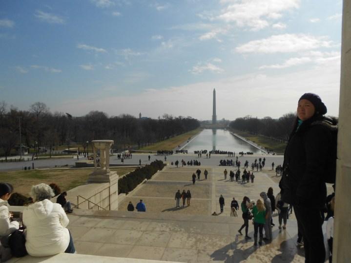 Vista do Lincoln Memorial