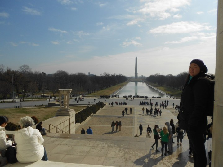 Vista do Lincoln Memorial