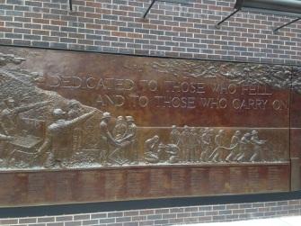 Entrada para o World Trade Center reformulado