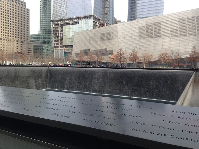 Memorial às vítimas dos atentados no WTC