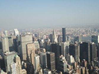Vista do Empire State Building