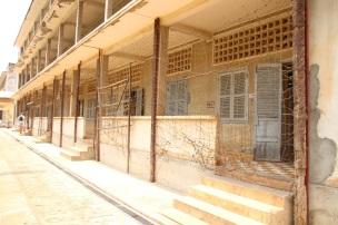 Edifício do S-21 Tuol Sleng