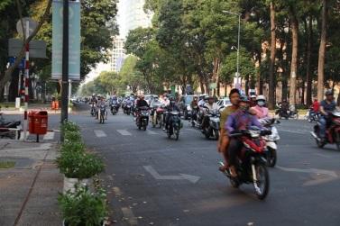 Ruas de Saigon (atual Ho Chi Minh)