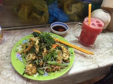 Almoço no Ben Thanh Market