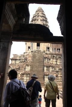 VIsão da torre do Angkor Wat