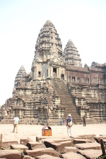 Interior do Angkor Wat