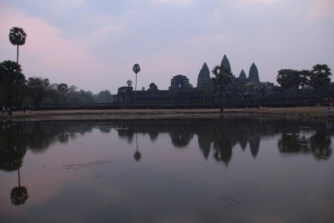 Nascer do sol no Angkor Wat