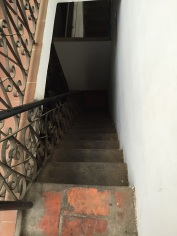 Escadaria hostel