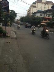 Rua do hostel pela manhã