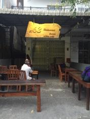 Frente do hostel