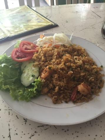 Fried Rice with Prawns :)