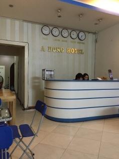 Recepção do A Dong Hotel