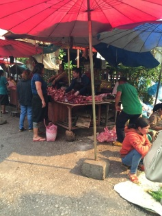 Morning Market - barraca de carnes