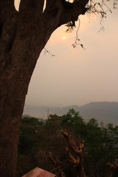 Pôr-do-sol Mont Phousy