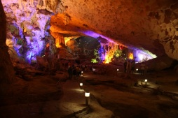 Caverna em Halong Bay