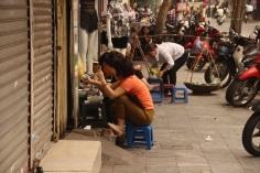 Cena frequente na Ásia
