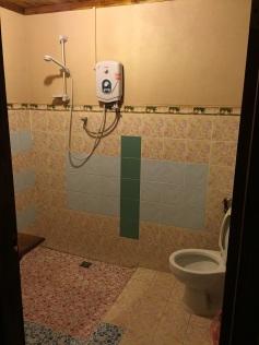 Banheiro do Lao Lu Lodge