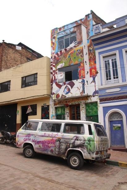 Tour do Grafite - Bogotá