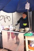 Almoço: Arepa!