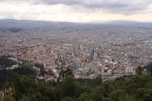 Vista do topo do Montserrate