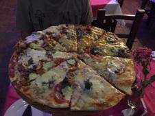 Jantar no restaurante Los Bohemios